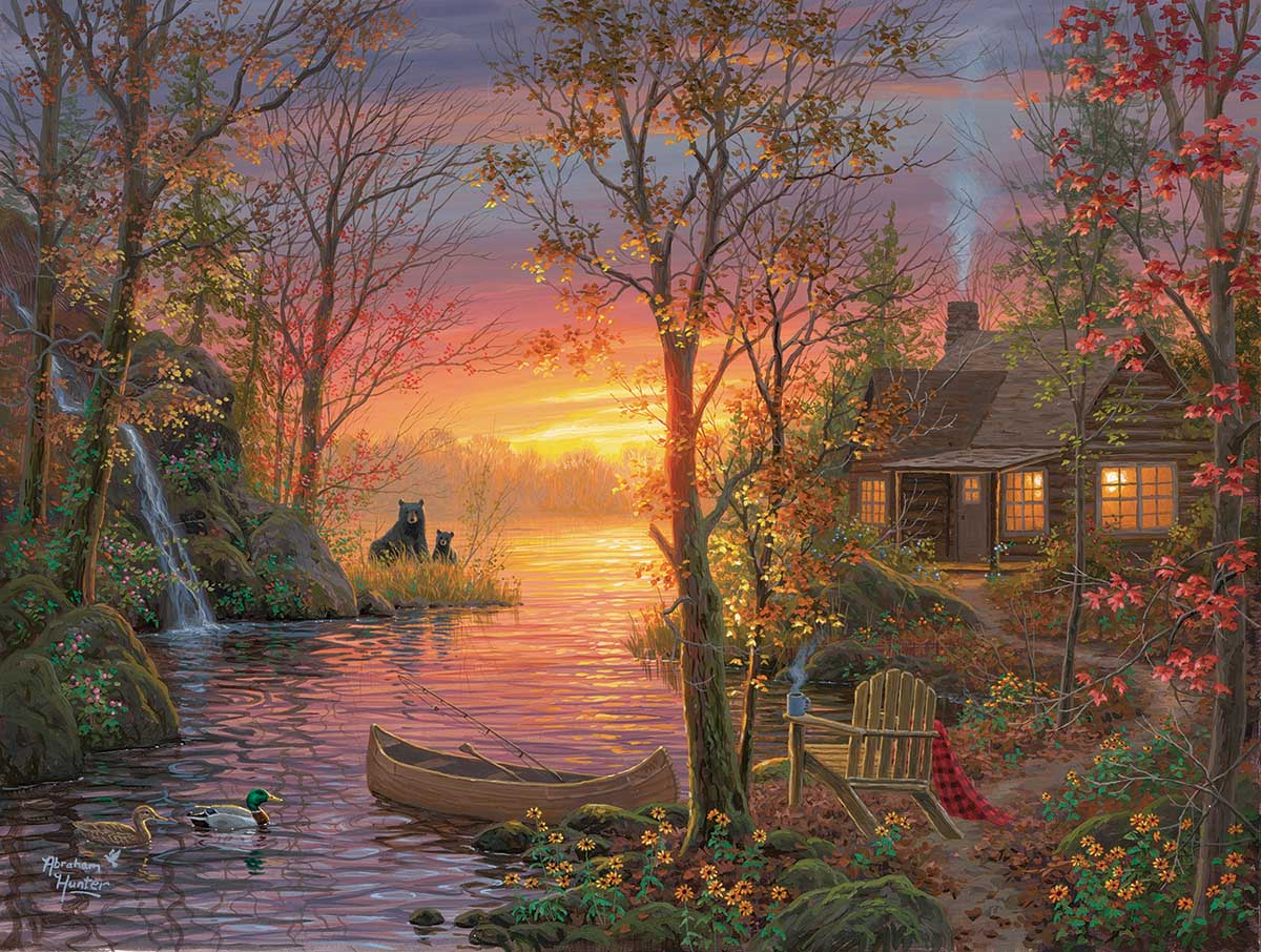 Vacation Time Forest Jigsaw Puzzle