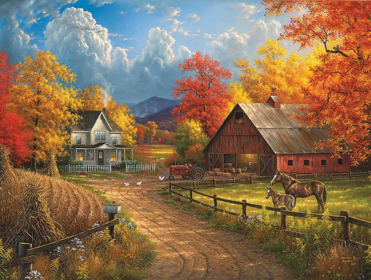 Country Blessings Countryside Jigsaw Puzzle