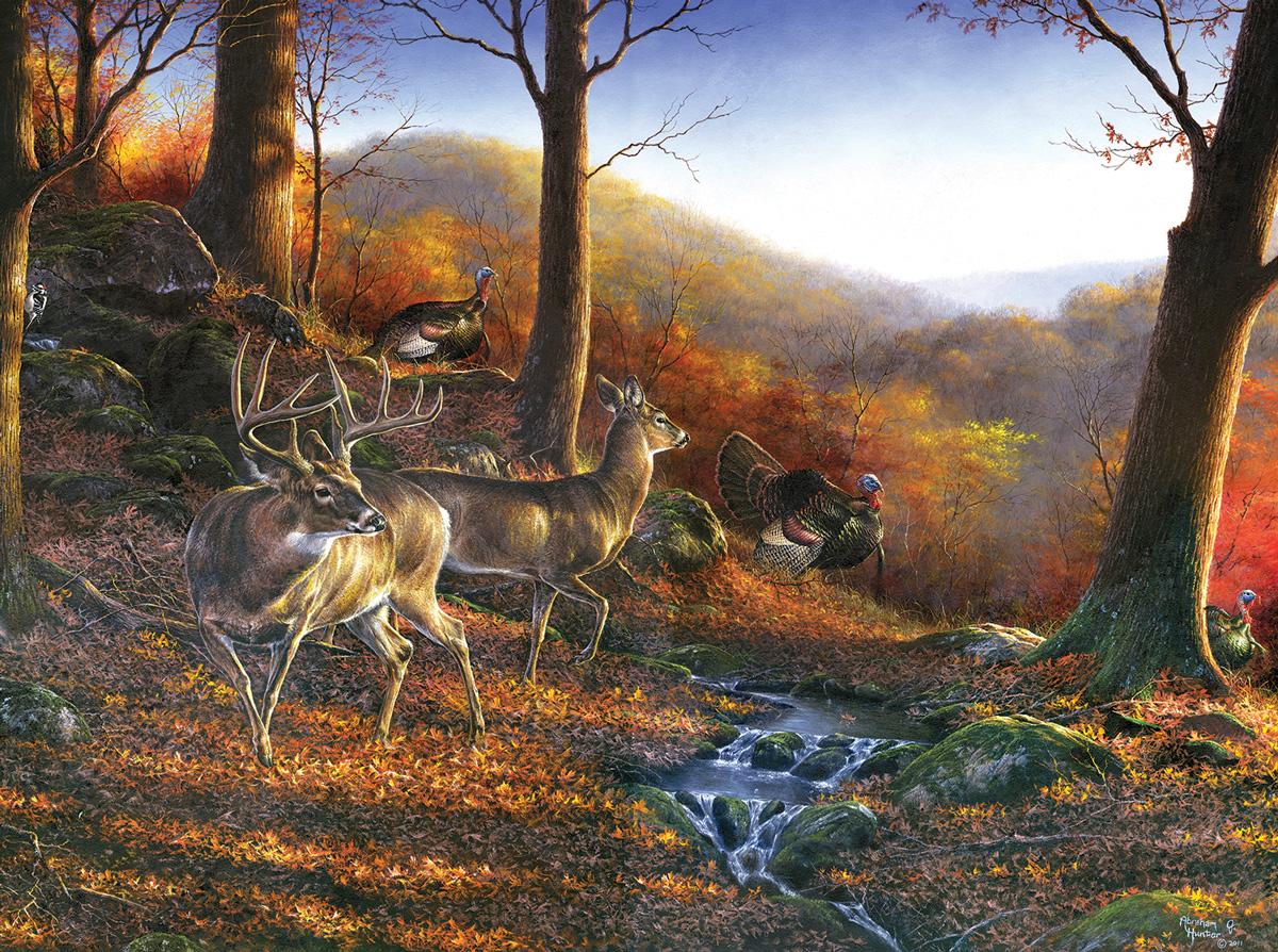 Shawnee Hills Wildlife Jigsaw Puzzle