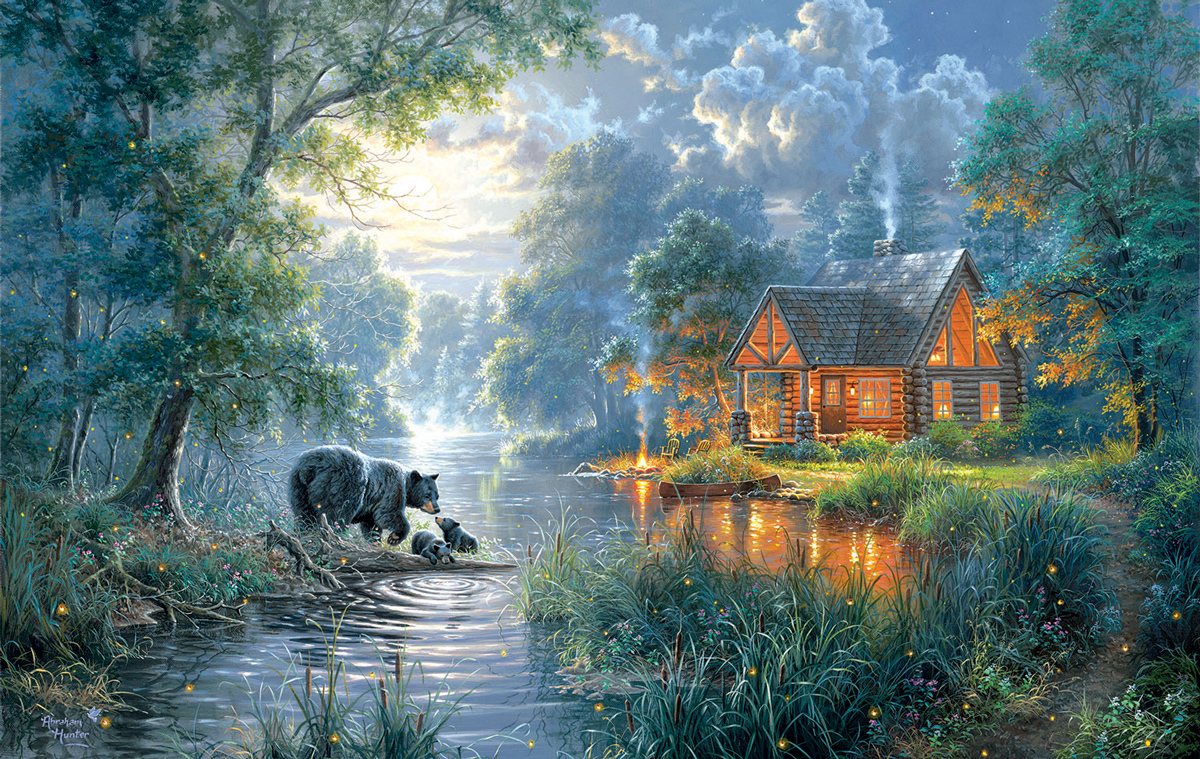 Firefly Cove Lakes / Rivers / Streams Jigsaw Puzzle