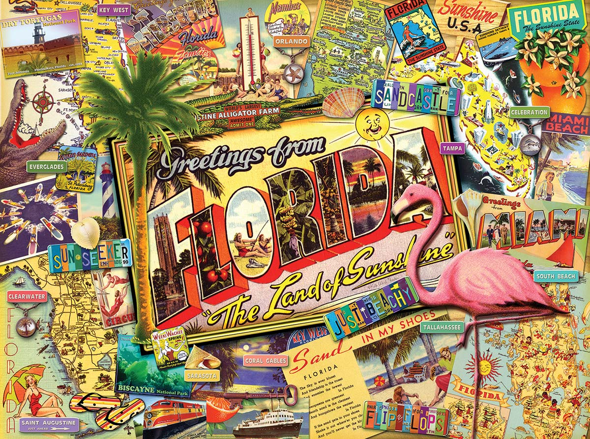 Florida Travel Jigsaw Puzzle
