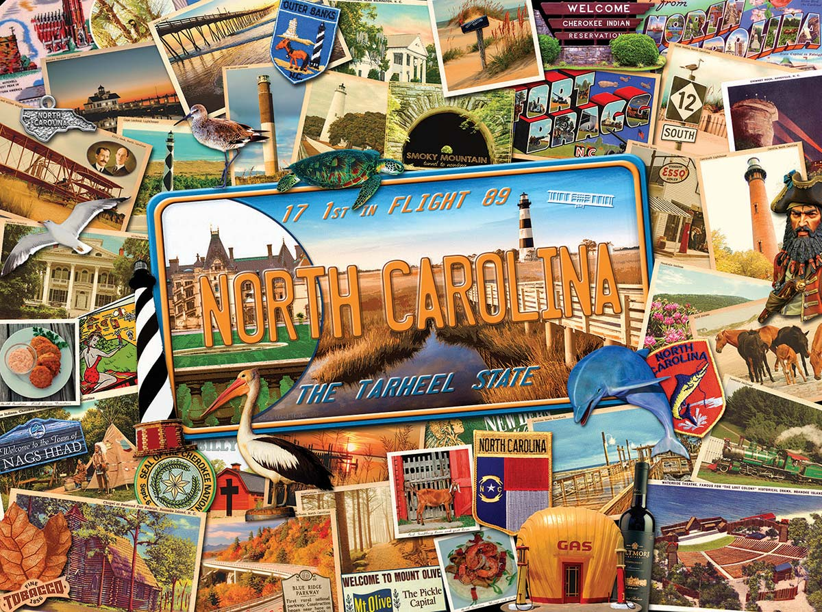 North Carolina Travel Jigsaw Puzzle