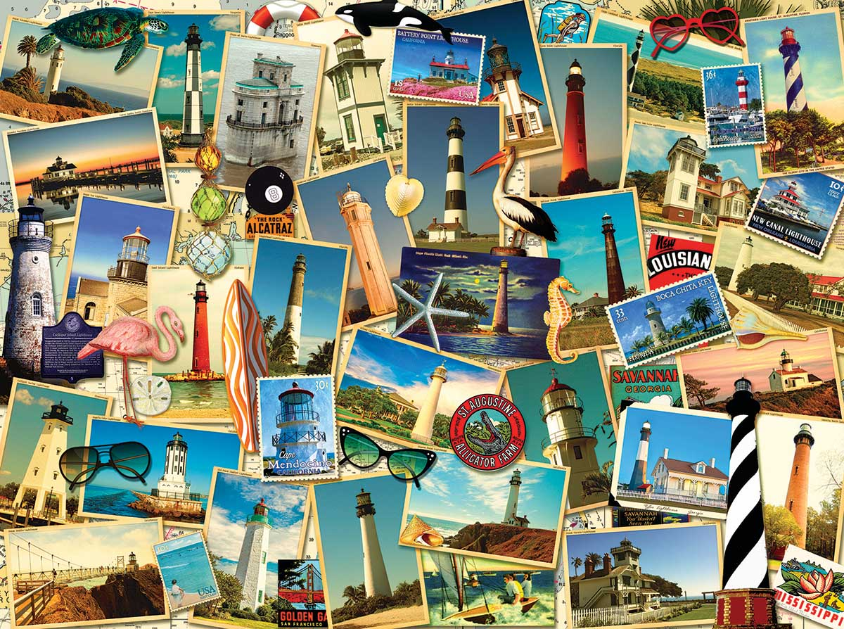 Southern Lighthouses Lighthouses Jigsaw Puzzle