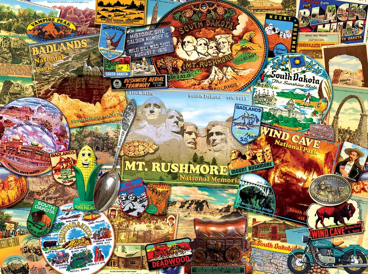South Dakota United States Jigsaw Puzzle