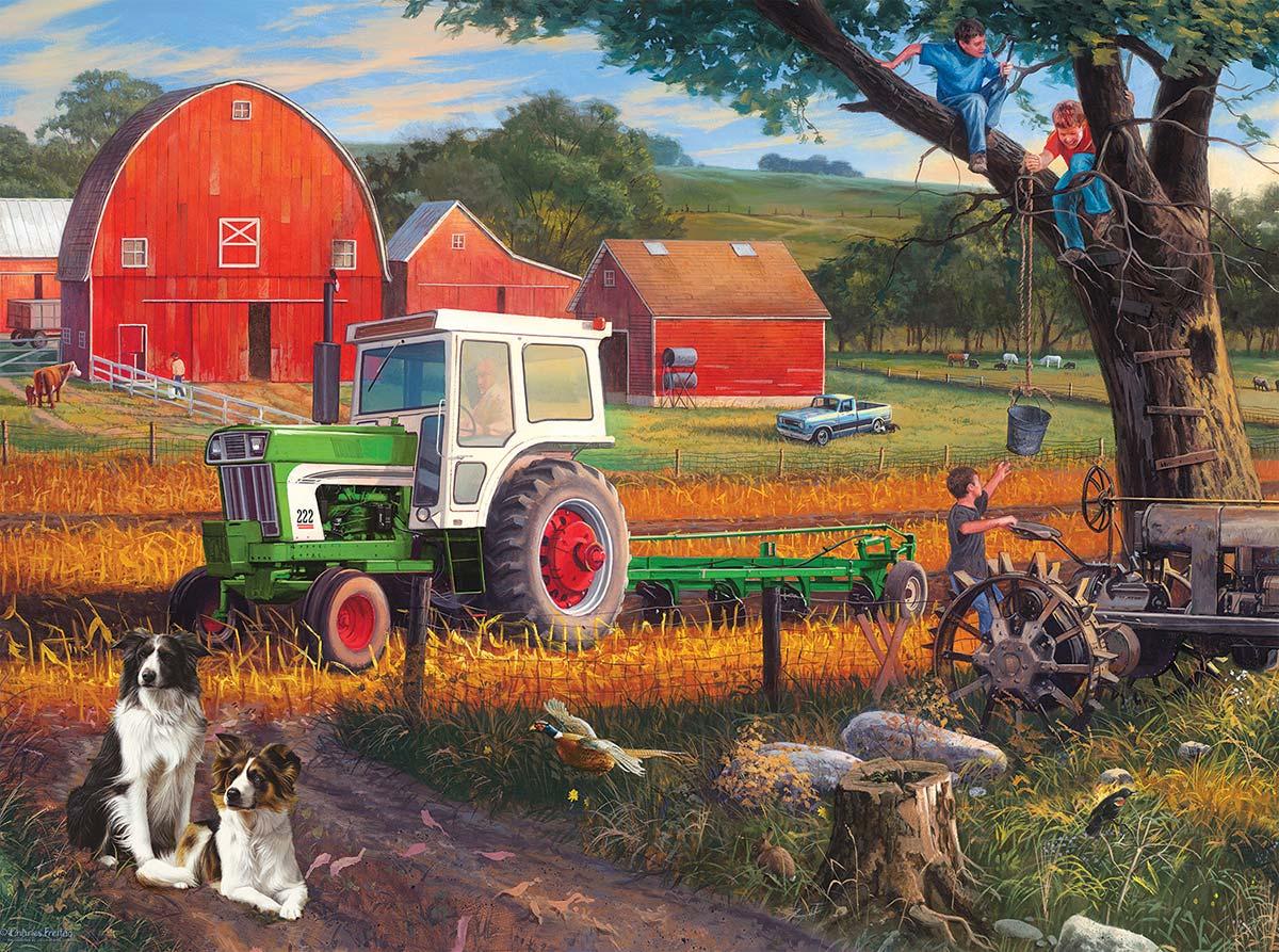 The Farm Farm Jigsaw Puzzle