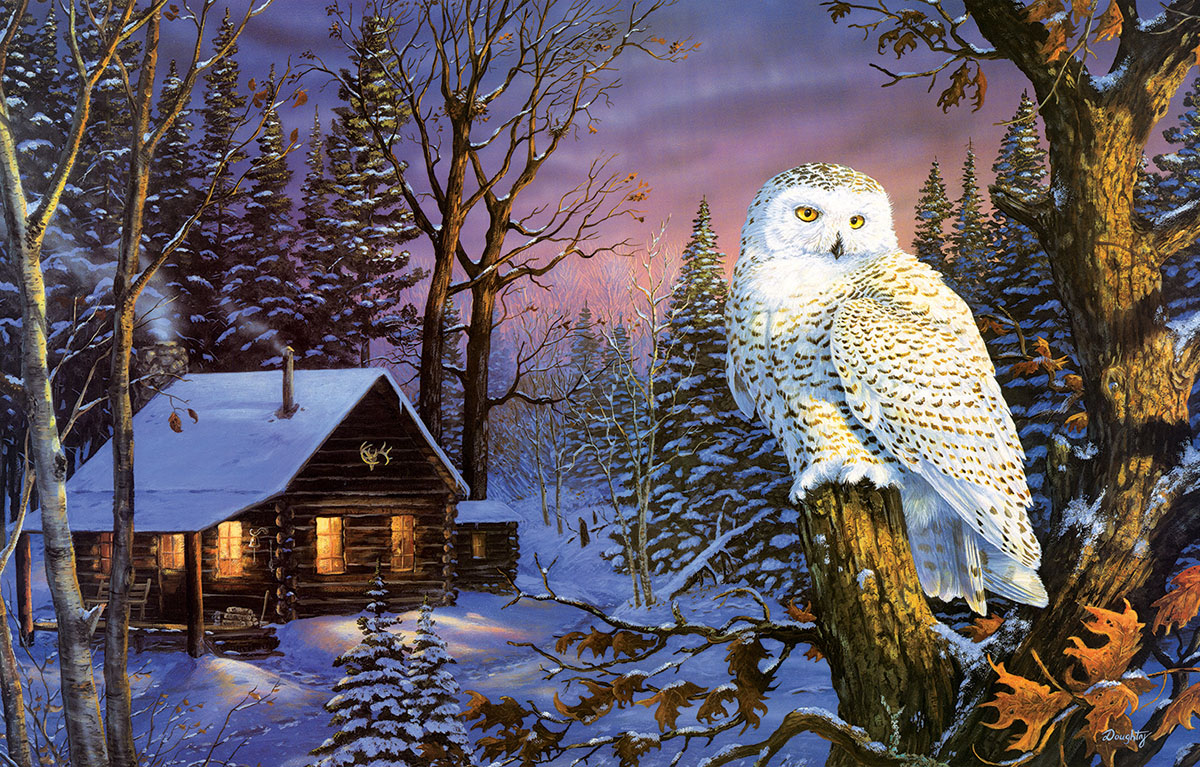 Night Watch Birds Jigsaw Puzzle