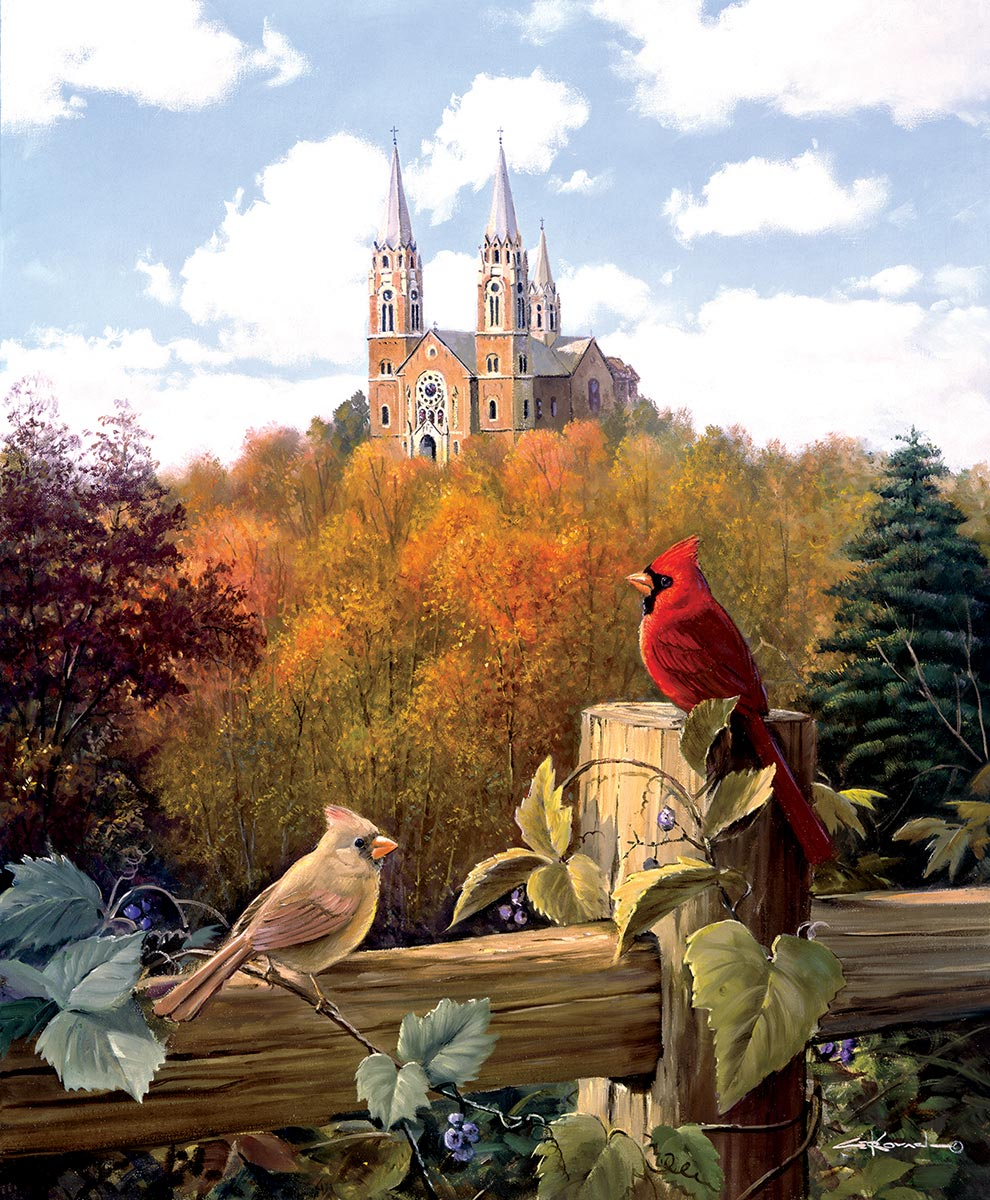 Royal Gathering Birds Jigsaw Puzzle