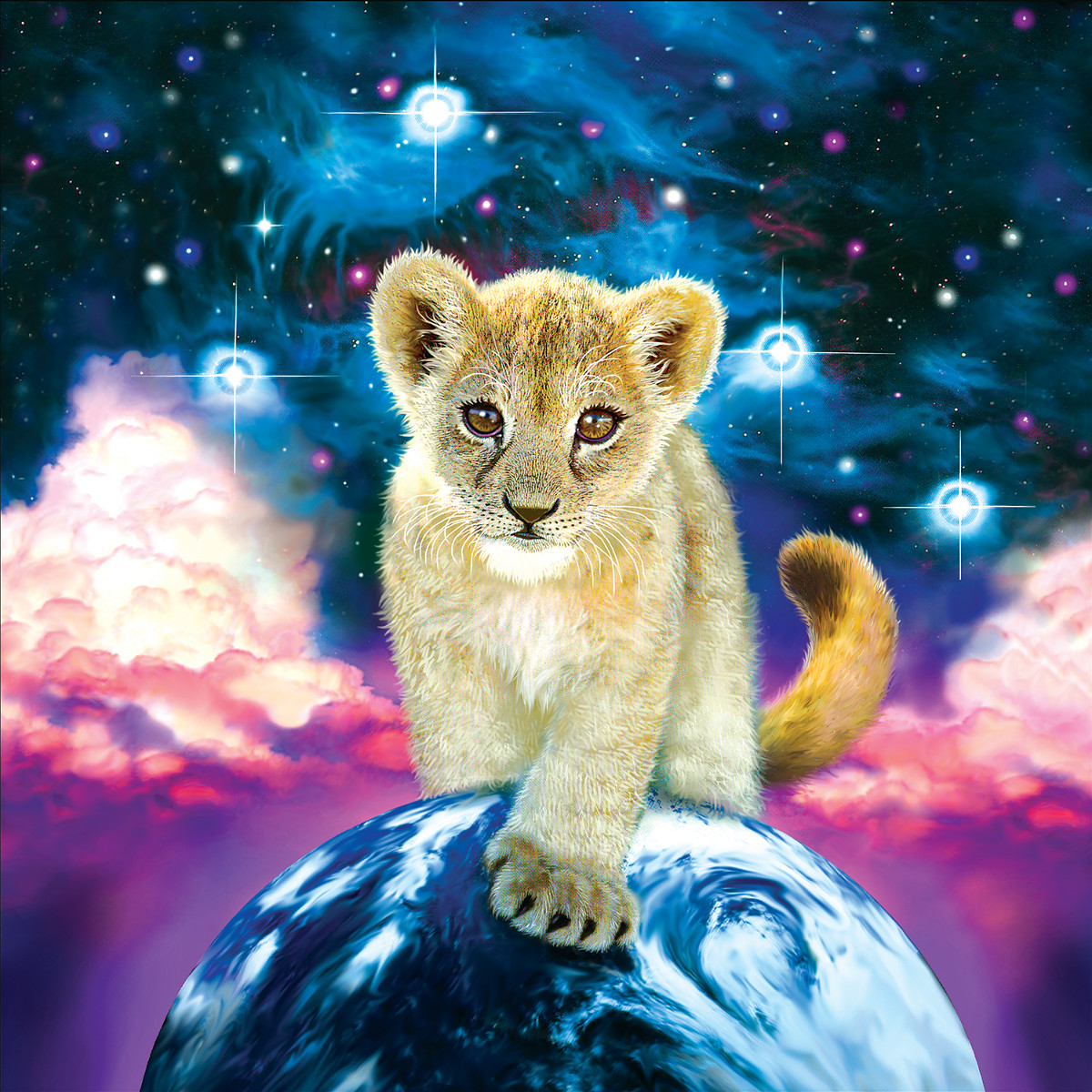 Moonlit Cub - Scratch and Dent Jigsaw Puzzle