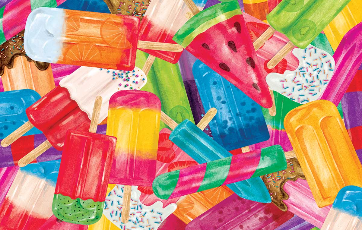 Popsicle Sweets Jigsaw Puzzle