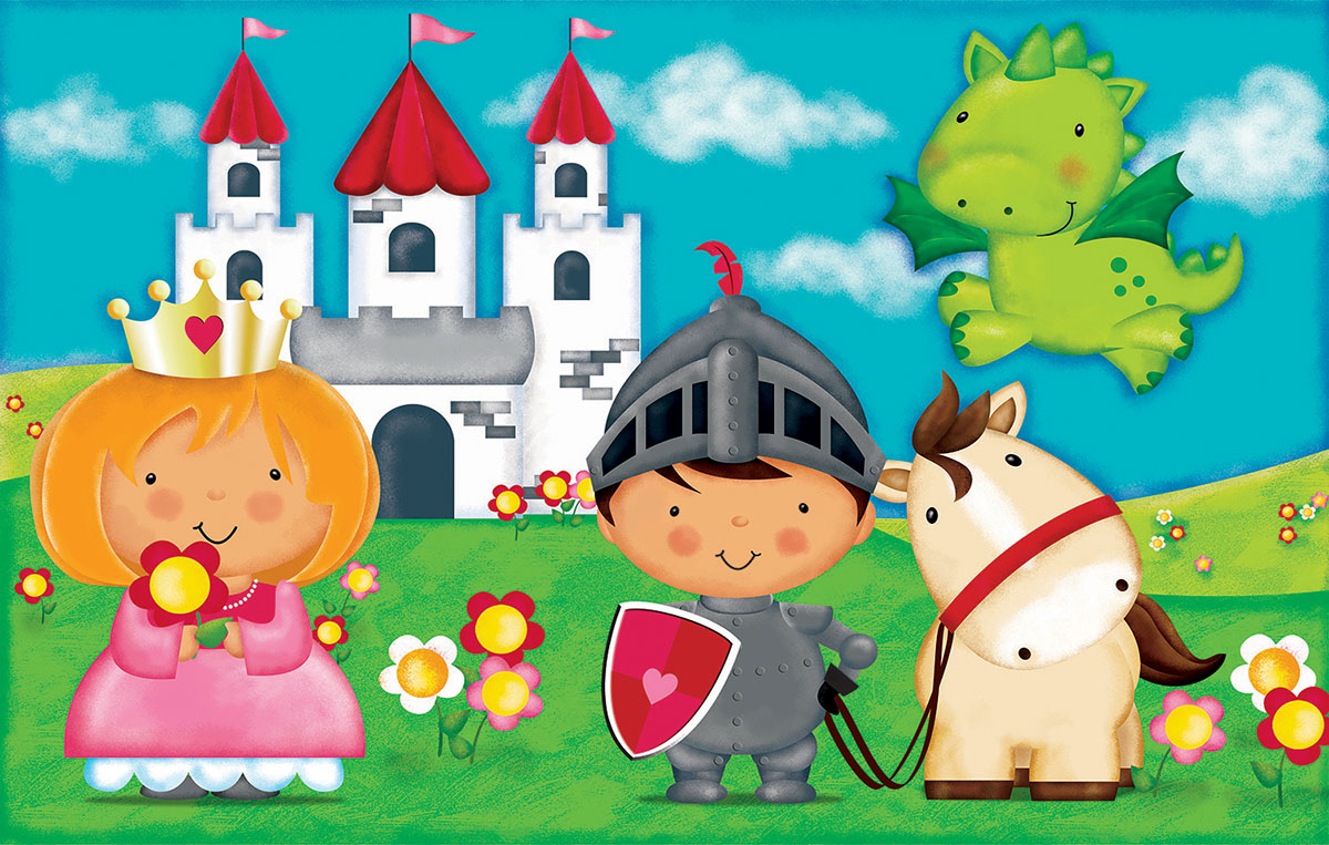 Kid's Kingdom Castles Jigsaw Puzzle