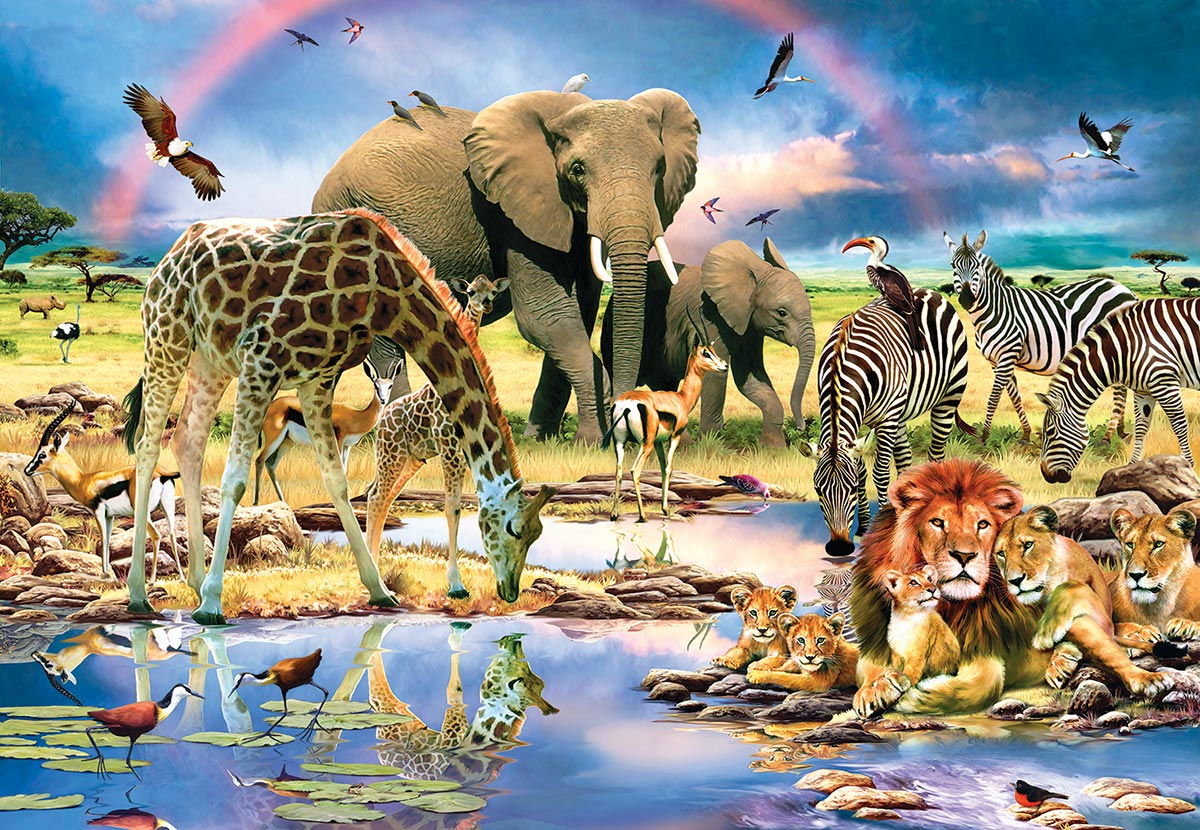 Safari Wildlife Jigsaw Puzzle
