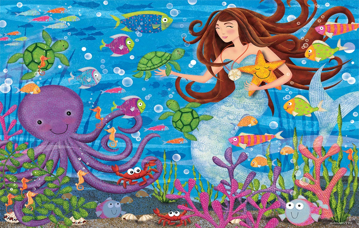 Ocean Social Under The Sea Jigsaw Puzzle