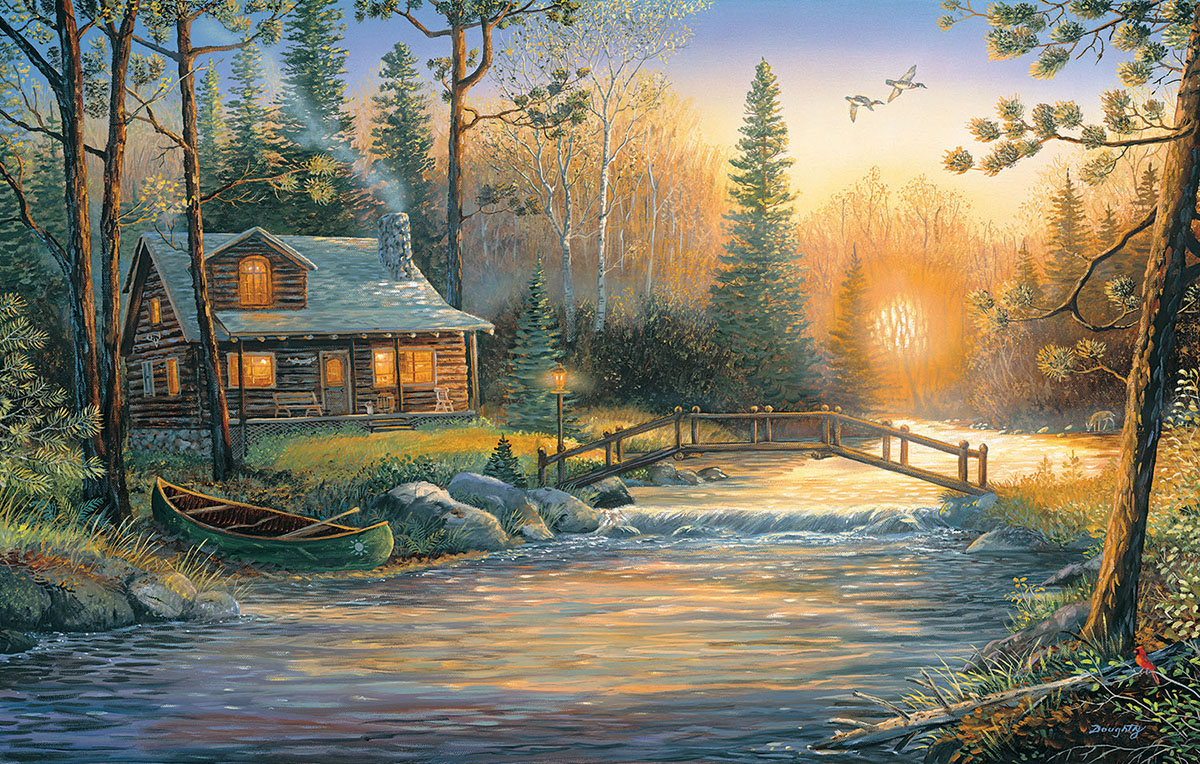 Mystic Hour - Scratch and Dent Winter Jigsaw Puzzle