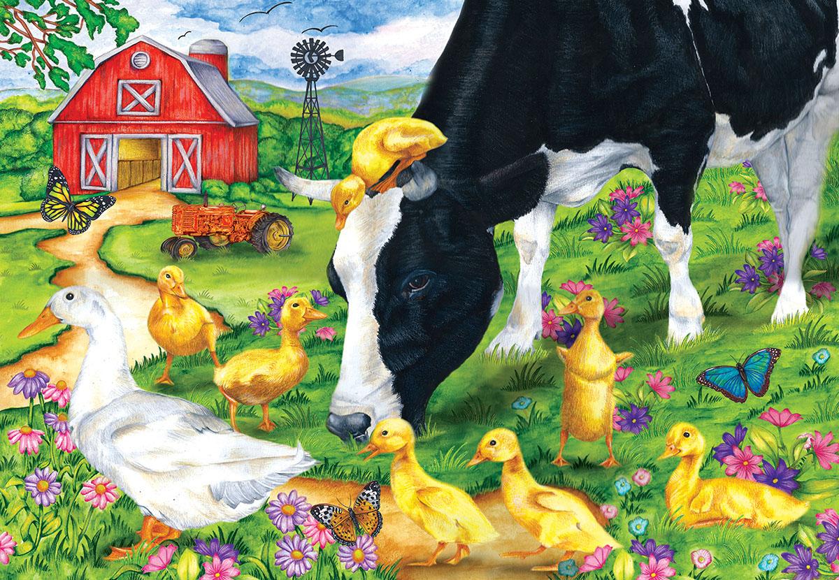 The Encounter Farm Jigsaw Puzzle