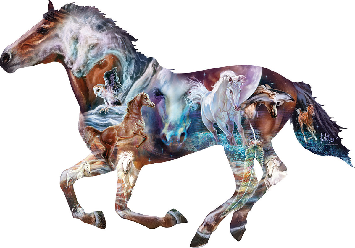 The Mystery of the Horse Horses Shaped Puzzle