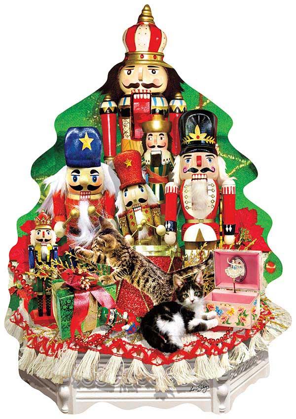 A Nutcracker Christmas Christmas Shaped Puzzle