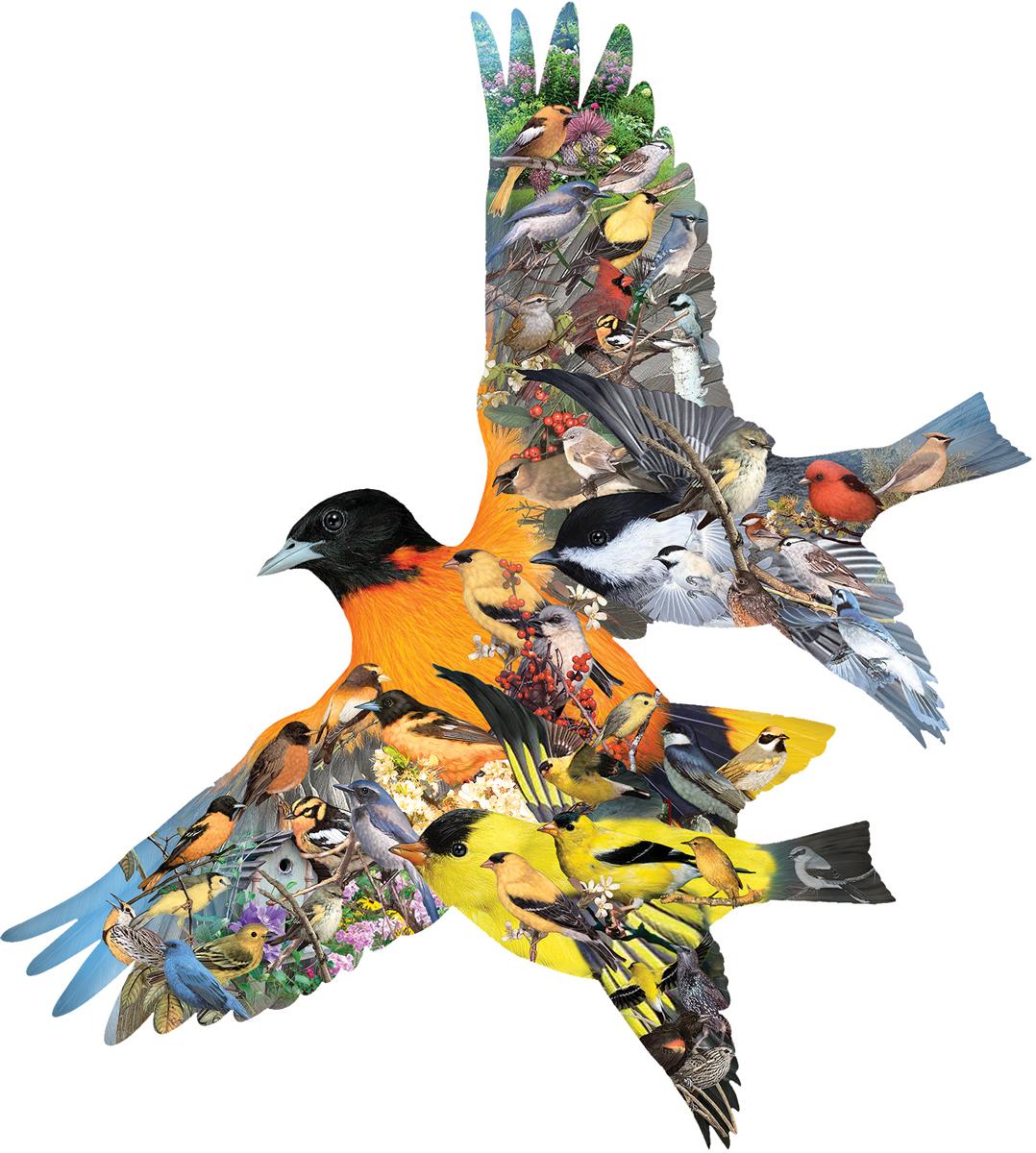 Oriole Birds Shaped Puzzle