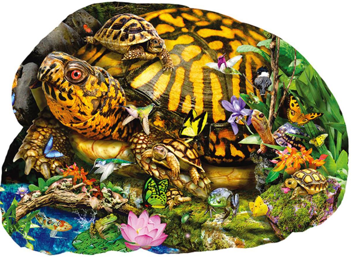 Tortoise Crossing Animals Shaped Puzzle