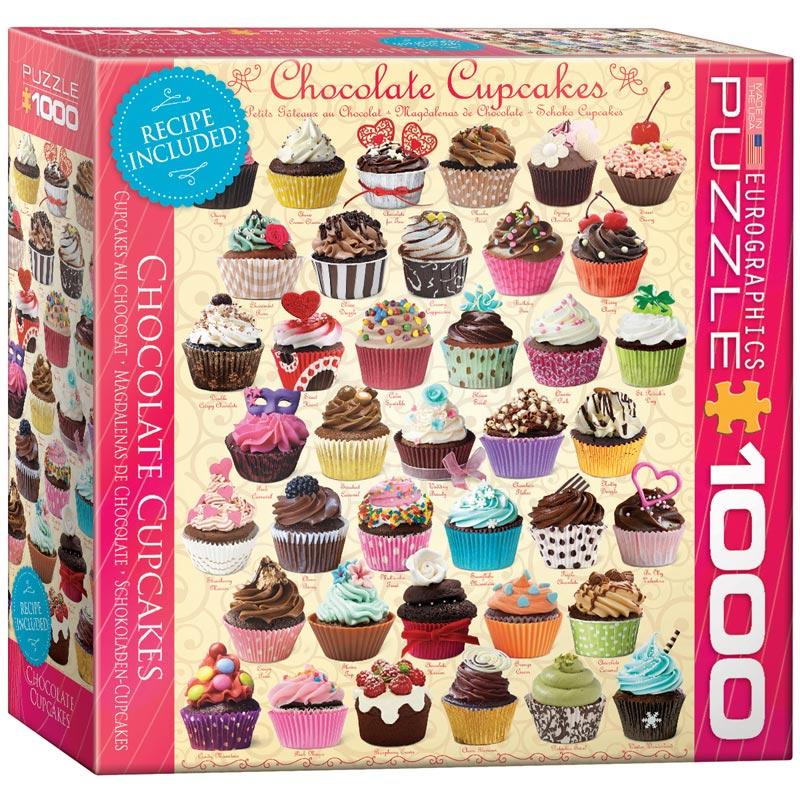 Chocolate cupcakes jigsaw puzzle for Cuisine 8000 euros