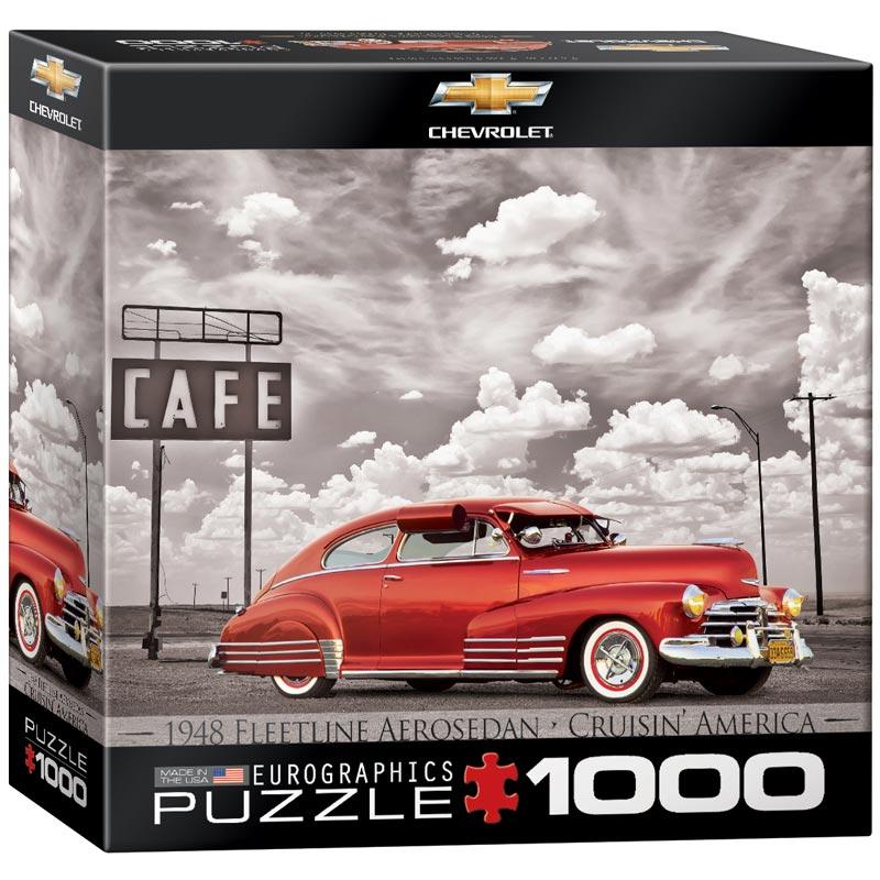 1948 Chevrolet Fleetline Aerosedan Cars Jigsaw Puzzle