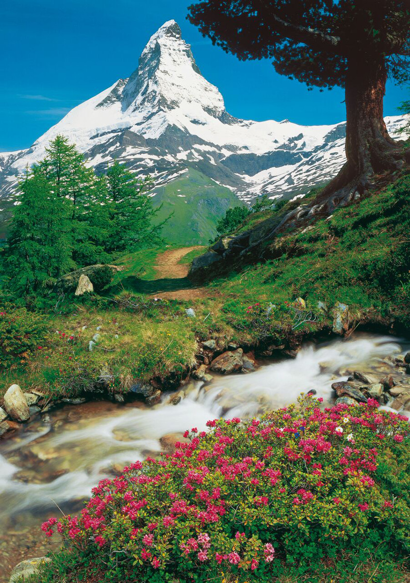 Matterhorn Cervina - Scratch and Dent Landscape Jigsaw Puzzle