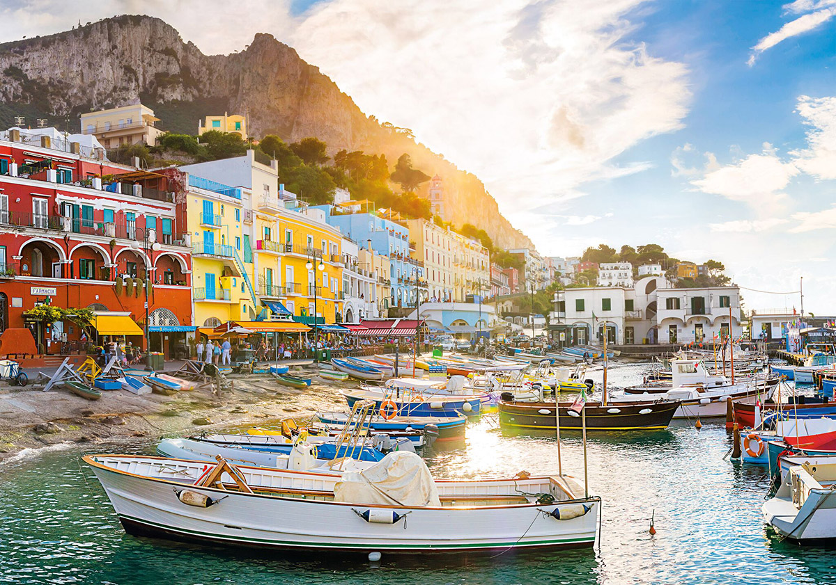 Capri - Scratch and Dent Boats Jigsaw Puzzle
