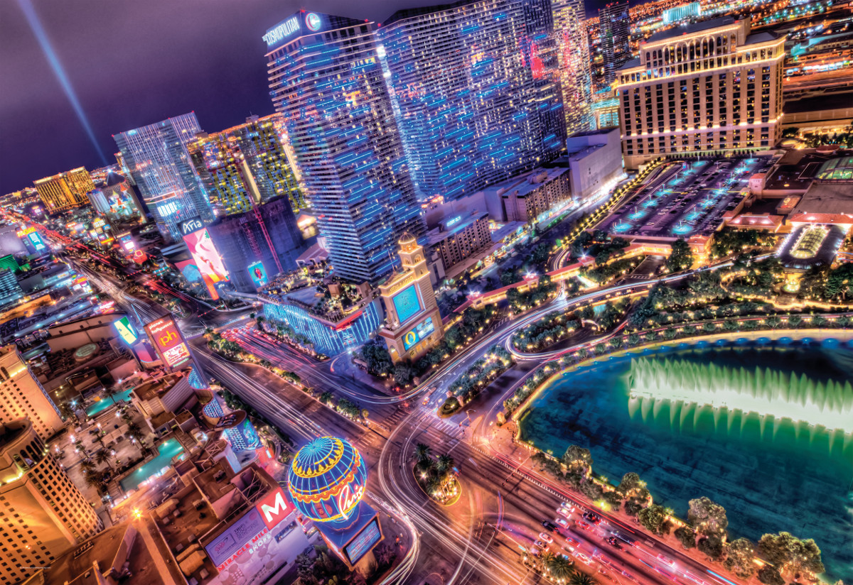 Las Vegas - Scratch and Dent Jigsaw Puzzle