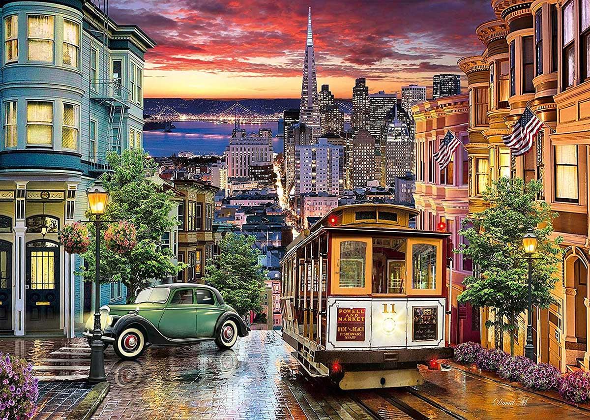 San Francisco Skyline / Cityscape Jigsaw Puzzle