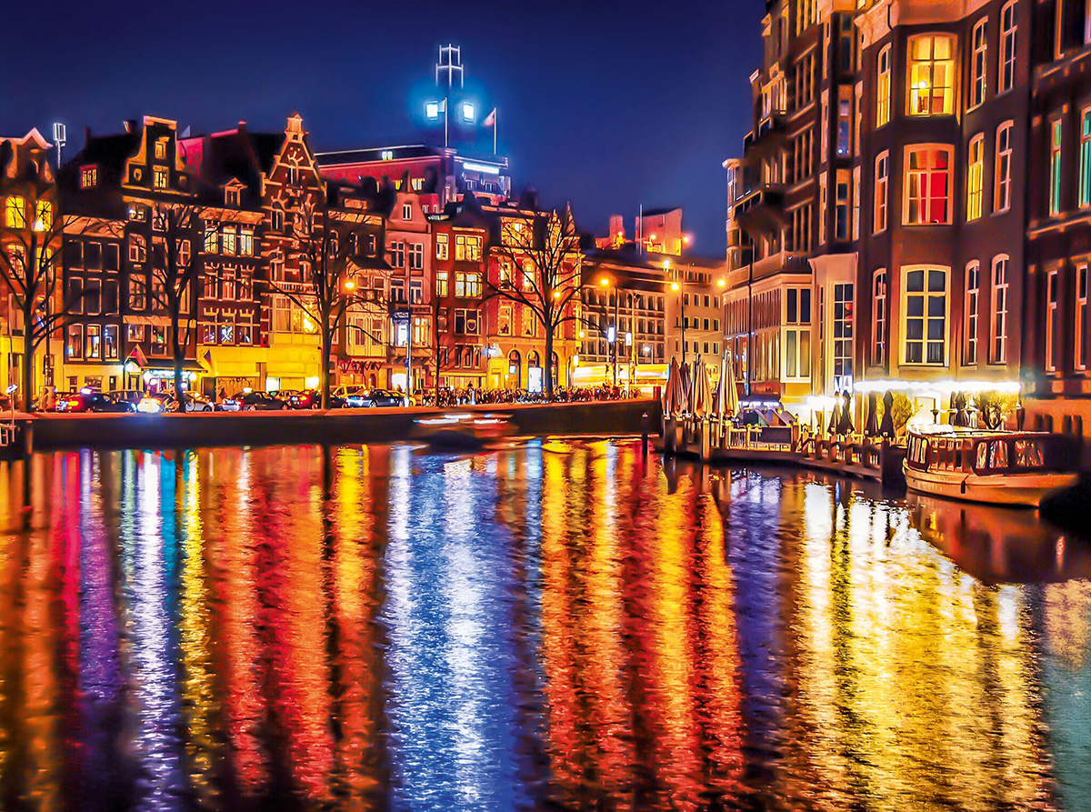 Amsterdam Photography Jigsaw Puzzle
