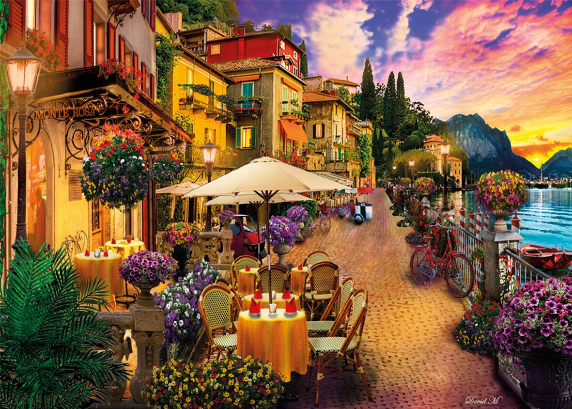 Monte Rosa Dreaming Europe Jigsaw Puzzle