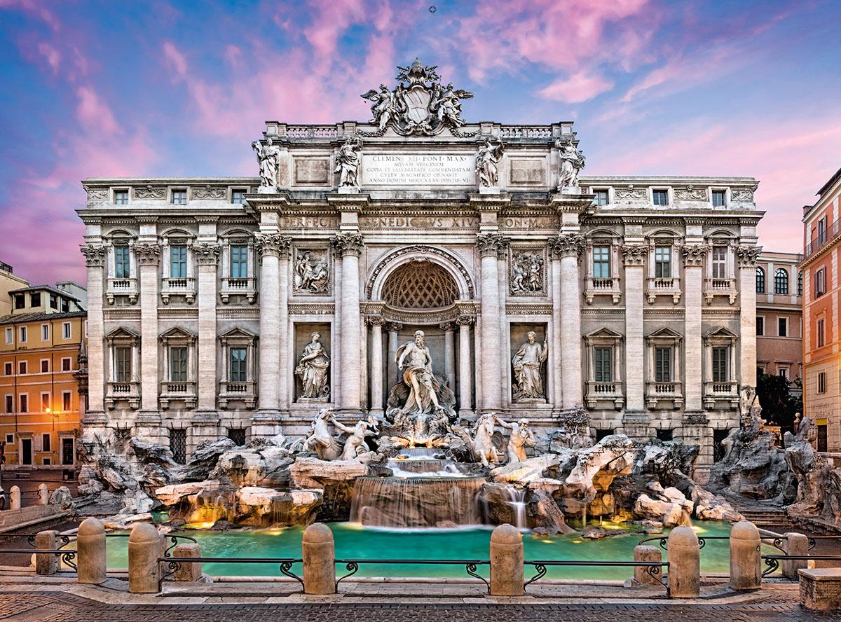 Trevi Fountain Italy Jigsaw Puzzle