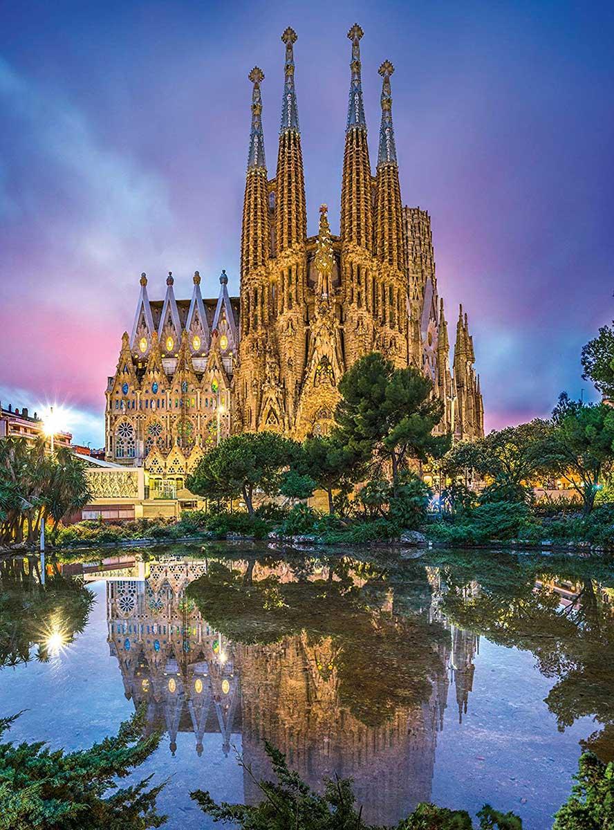 Barcelona Churches Jigsaw Puzzle