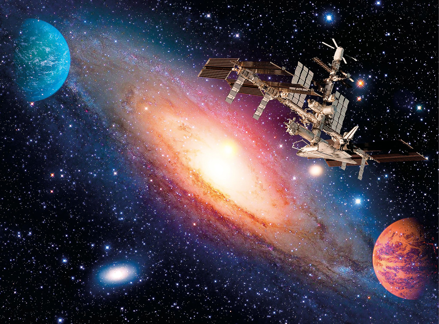 International Space Station Space Jigsaw Puzzle
