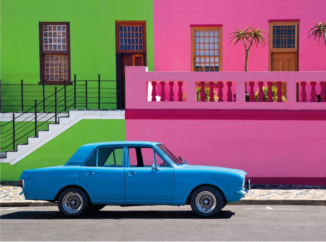 The Blue Car Cars Jigsaw Puzzle