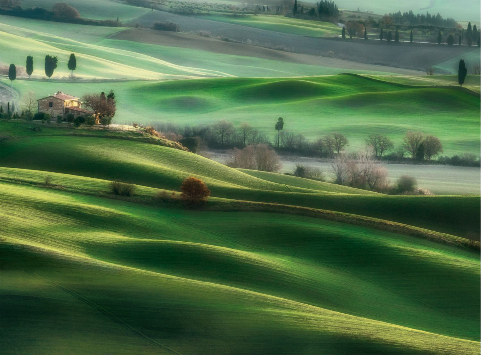 Tuscany Hills Countryside Jigsaw Puzzle