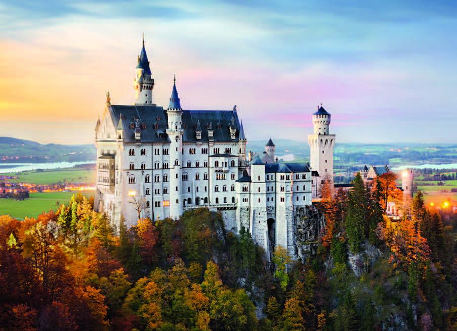 Neuschwanstein Castle Jigsaw Puzzle Puzzlewarehouse Com