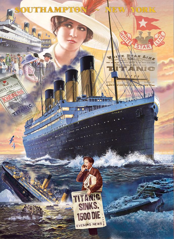 Titanic Jigsaw Puzzle Puzzlewarehouse Com
