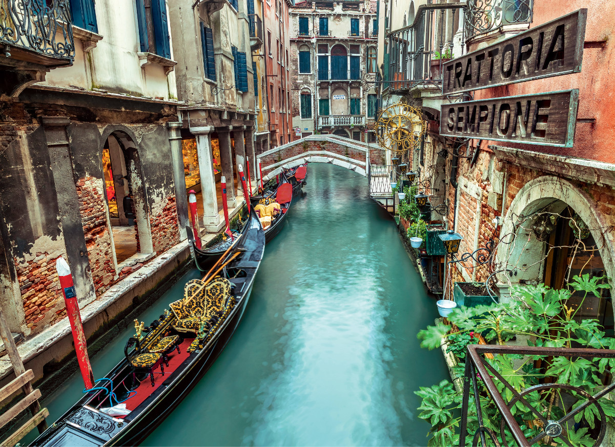 Venice Canal Travel Jigsaw Puzzle