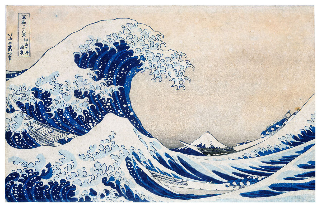 The Great Wave Contemporary & Modern Art Jigsaw Puzzle