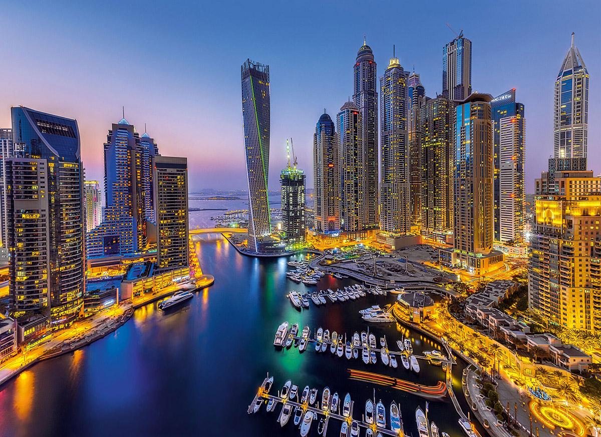 Dubai Skyline / Cityscape Jigsaw Puzzle