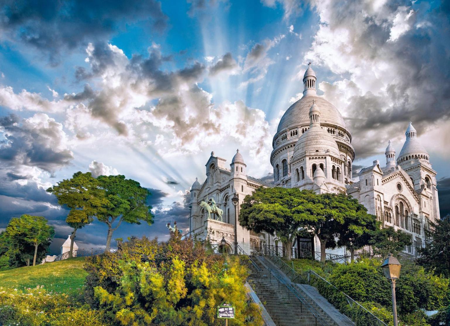 Montmartre France Jigsaw Puzzle