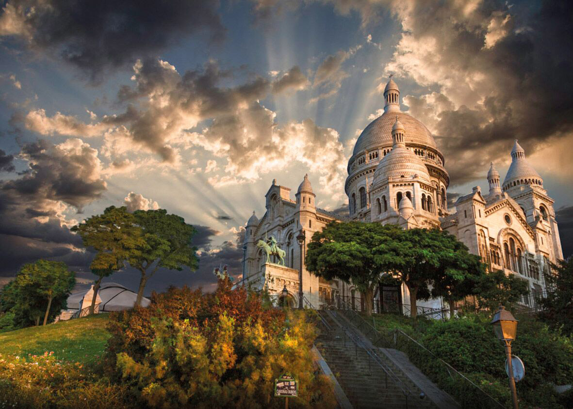 Montmartre - Scratch and Dent France Jigsaw Puzzle