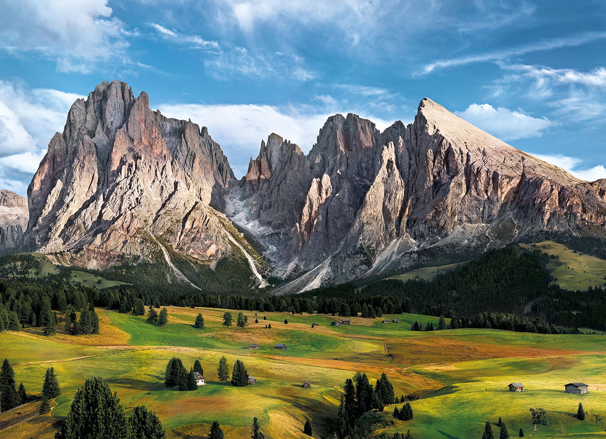 The Coronation of the Alps Mountains Jigsaw Puzzle