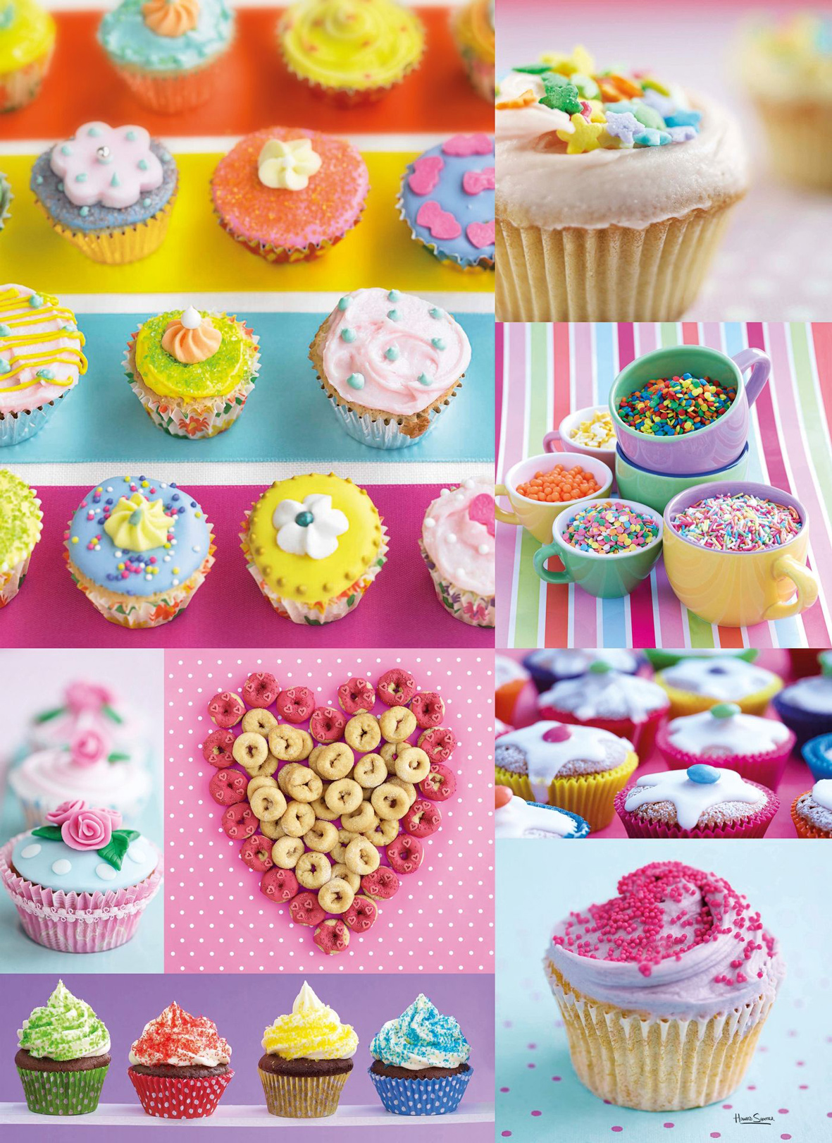 Sweet Donuts Food and Drink Jigsaw Puzzle
