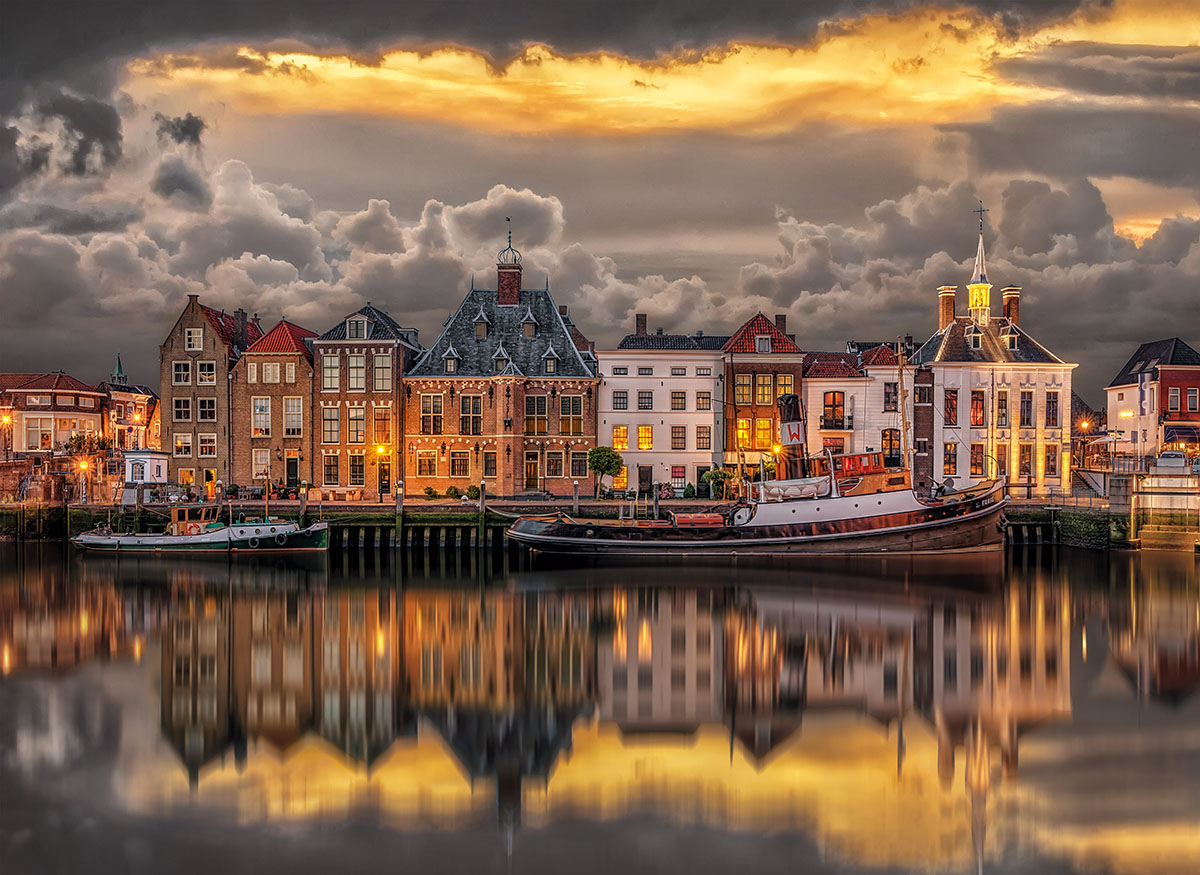 Dutch Dreamworld Europe Jigsaw Puzzle