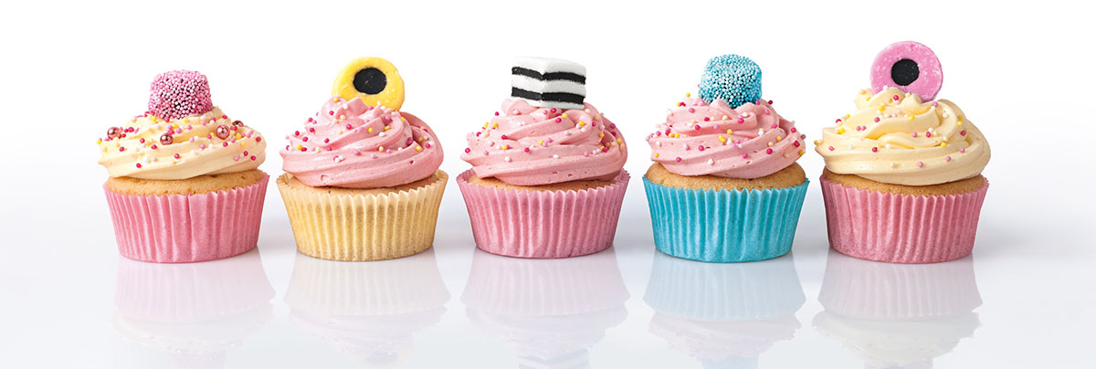 Licorice Cupcakes Sweets Jigsaw Puzzle