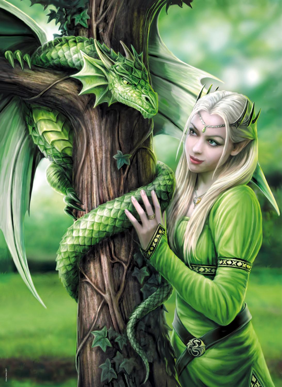 Kindred Spirits Fantasy Jigsaw Puzzle