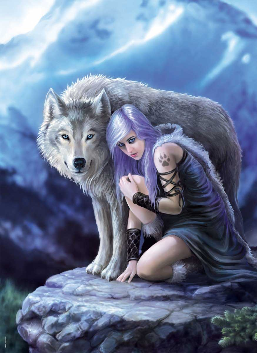 Protector - Scratch and Dent Wolves Jigsaw Puzzle