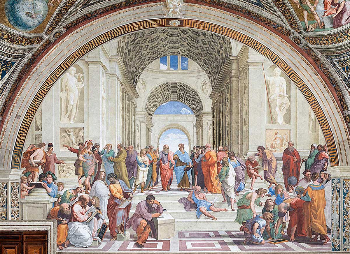 "Raphael ""The School of Athens"" Fine Art Jigsaw Puzzle"