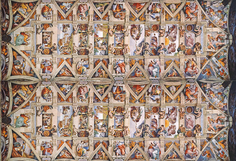 The Sistene Chapel Ceiling Fine Art Jigsaw Puzzle